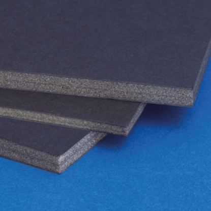 Bilde av Black Foamboard sort 10mm 70x100