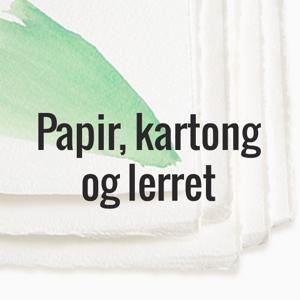 Bilde for kategori Papir, kartong og lerret