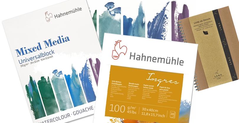 Nyheter fra Hahnemühle og Lana