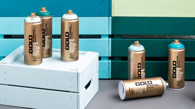 DIY med spraymaling: Trekasser