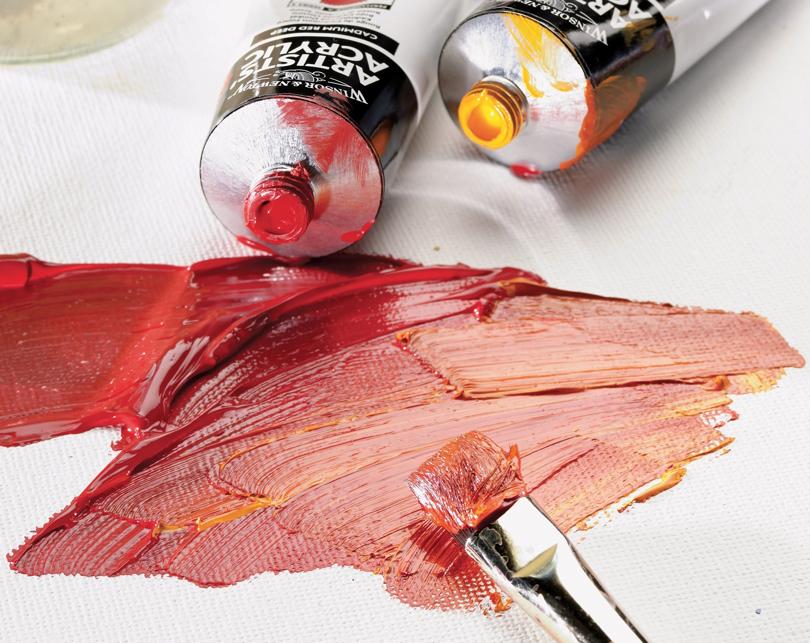 W&N Professional akrylmaling