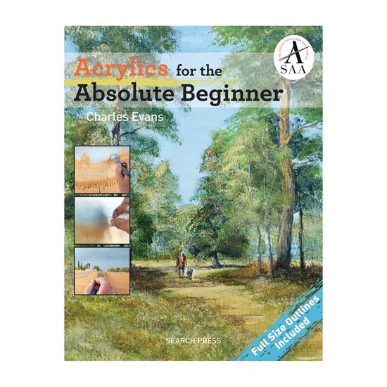 Bilde av Bok Acrylics for the Absolute Beginner