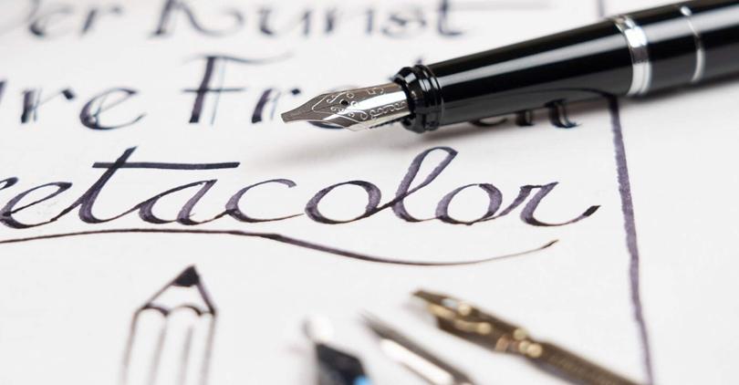 Kalligrafi og lettering