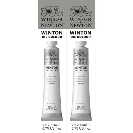 Bilde av WN Winton oil 200ml 2 pak. Tit. white