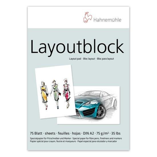 Bilde av Blokk Layout Papir 75g A2