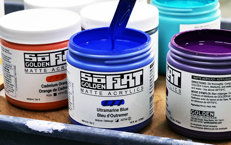 Golden SoFlat - supermatt akrylmaling
