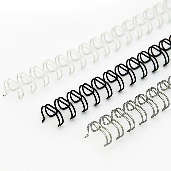 Bilde av Stålspiral 8,0mm Hvit