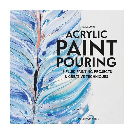 Bilde av Bok Acrylic Paint Pouring