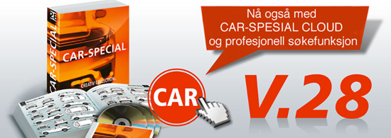 Bilde av CC CAR-SPECIAL OPPGR. 27->28